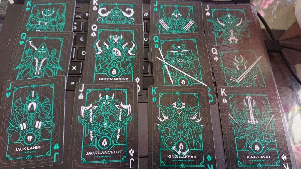 Collecting Card Decks & Kickstarter Sword Deck